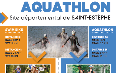 Swimbike – Aquathlon à Saint-Estèphe