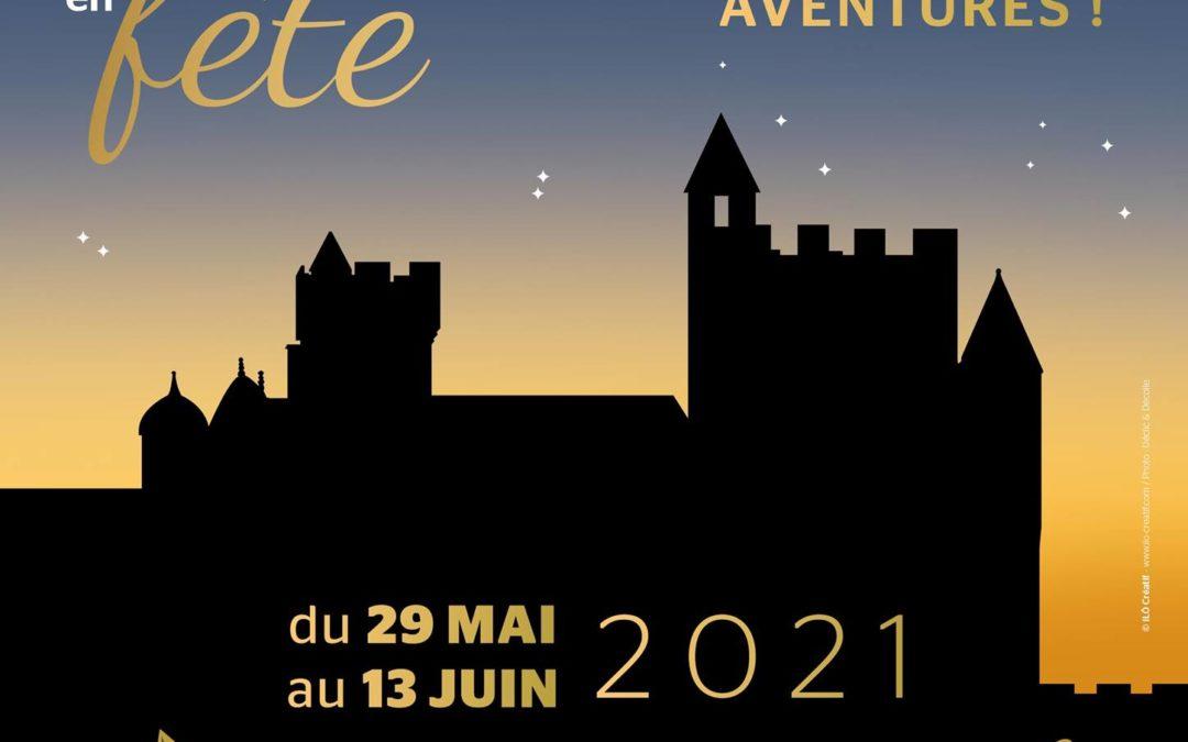 Châteaux en fête – Du 29 mai au 13 juin