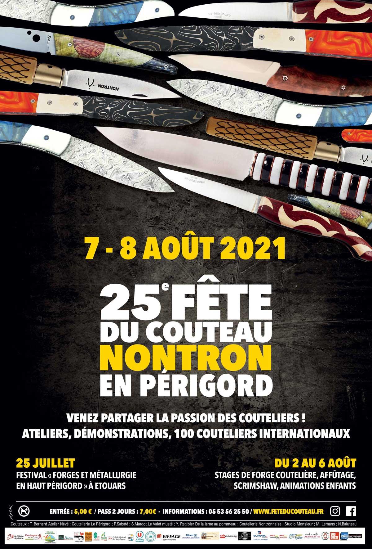 Fête du couteau à Nontron en Périgord